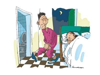 Bệnh tiểu đêm và cách phòng ngừa 1