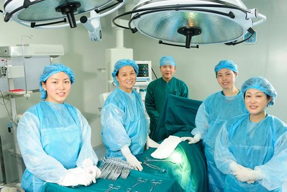 đội ngũ bác sĩ Thiện Hòa