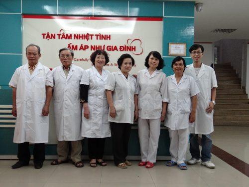 Đội ngũ Y bác sĩ ở phòng khám