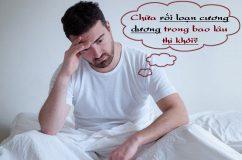 Rối loạn cương dương điều trị bao lâu